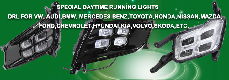 Specific LED DRL
